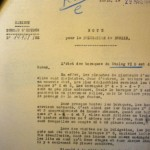 42.03.29 Stalag VI D - SDPG - Rapport Caignard (état des baraques)