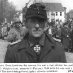 Hauptmann Albert Ernst, en février 1944