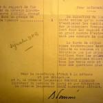 43.08.24 Suite donnée au rapport du Médecin-Lt Vernier (vapeurs de soufre)