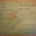 Bordereau d'envoi au SDPG de la note allemande (extrait d'un compte rendu du 8 mars 1941) - les prisonniers de guerre sont des esclaves ...