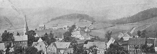 Halberbracht - Le village vers 1908