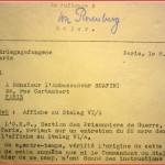 Réponse de l'O.K.W. à propos de la note allemande (extrait d'un compte rendu du 8 mars 1941) - les prisonniers de guerre sont des esclaves ...