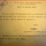 Traduction de la note allemande (extrait d'un compte rendu du 8 mars 1941) - les prisonniers de guerre sont des esclaves ...