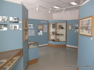 Hemer - Musée de la caserne Blücher - salle commémorative du stalag VI A