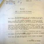 42.01.10 Stalag VID - Lettre de demande d'enquête au SDPG (état sanitaire)
